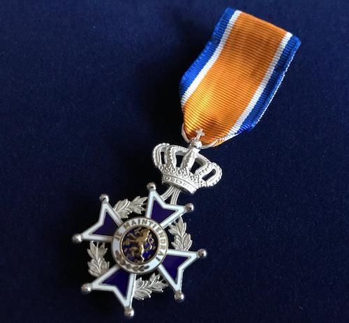 Koninklijke onderscheiding!